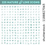 big natural icon set   Shutterstock .eps vector #1188827065