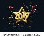 Happy New 2019 Year. Holiday...