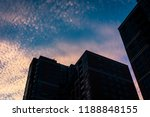 low angle view of a part of a... | Shutterstock . vector #1188848155