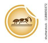 vector illustration of a brown... | Shutterstock .eps vector #1188850372