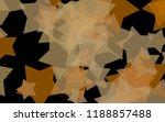 multicolored translucent stars... | Shutterstock . vector #1188857488
