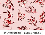 bright floral seamless pattern. ... | Shutterstock .eps vector #1188878668