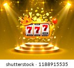 big win slots 777 banner casino.... | Shutterstock .eps vector #1188915535