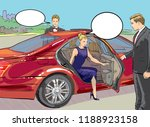 rich and beautiful celebrities  ... | Shutterstock .eps vector #1188923158