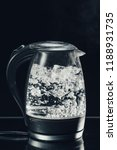 electric glass kettle | Shutterstock . vector #1188931735