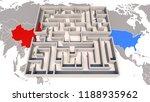 trade war between china and... | Shutterstock . vector #1188935962