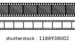 film strip collection. vector... | Shutterstock .eps vector #1188938002