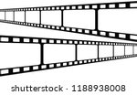 film strip collection. vector... | Shutterstock .eps vector #1188938008