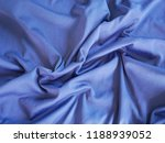 blue silk fabric background | Shutterstock . vector #1188939052