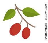vector illustration of dogwood. ...   Shutterstock .eps vector #1188940825
