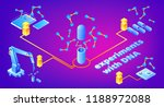 dna experiments vector... | Shutterstock .eps vector #1188972088