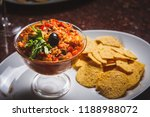 bread and pate | Shutterstock . vector #1188988072