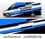 van wrap design. wrap  sticker...   Shutterstock .eps vector #1188988228