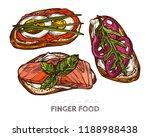 Finger Food  Mini Sandwiches...