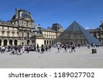 paris  france   may 11  2018 ... | Shutterstock . vector #1189027702