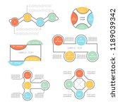 infographic elements for... | Shutterstock .eps vector #1189039342