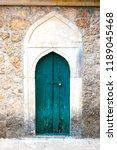 Authentic Old Door In Arabic...