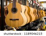 close up view at acoustic... | Shutterstock . vector #1189046215
