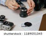 repair of photographic... | Shutterstock . vector #1189051345