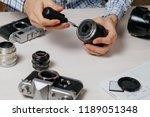 repair of photographic... | Shutterstock . vector #1189051348