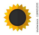 sunflower flat icon. you can be ...