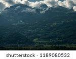 snow mountain  malbun in... | Shutterstock . vector #1189080532