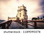 tower of belem  lisbon  portugal | Shutterstock . vector #1189090378