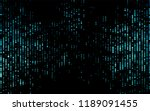 dark blue vector  background... | Shutterstock .eps vector #1189091455