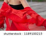 stylish shooting of a girl... | Shutterstock . vector #1189100215