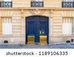 Paris  Old Wooden Door...