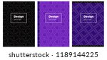 light purple vector template...   Shutterstock .eps vector #1189144225