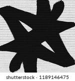 Black Marker Graffiti Symbol....