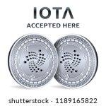 iota. accepted sign emblem.... | Shutterstock .eps vector #1189165822