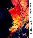 modern art. colorful... | Shutterstock . vector #1189198762