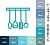 kitchen accessories line icon ... | Shutterstock .eps vector #1189212145