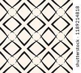 vector grid seamless pattern....   Shutterstock .eps vector #1189214818
