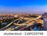 overpass of agricultural road ... | Shutterstock . vector #1189233748