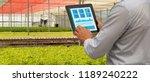 iot smart industry robot 4.0... | Shutterstock . vector #1189240222