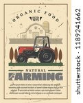 agriculture and natural farming.... | Shutterstock .eps vector #1189241662