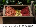 colourful of seed  yellow  red... | Shutterstock . vector #1189243405