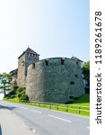 beautiful architecture at vaduz ... | Shutterstock . vector #1189261678