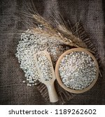 white sorghum isolated on... | Shutterstock . vector #1189262602