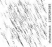 grunge halftone pattern.... | Shutterstock .eps vector #1189284385