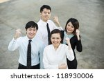 happy chinese business... | Shutterstock . vector #118930006