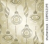 new year background with... | Shutterstock .eps vector #1189312195