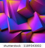 abstract geometric background... | Shutterstock .eps vector #1189343002