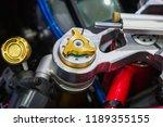 motorcycle accessories titanium.   Shutterstock . vector #1189355155