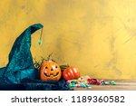 Happy Halloween  Pumpkin With...
