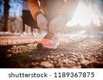 preparing for training.   Shutterstock . vector #1189367875