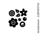 black   white vector... | Shutterstock .eps vector #1189395742